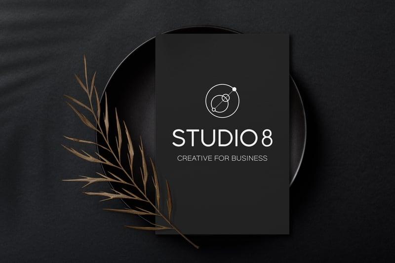 Логотип Студио 8 – работа в портфолио фрилансера