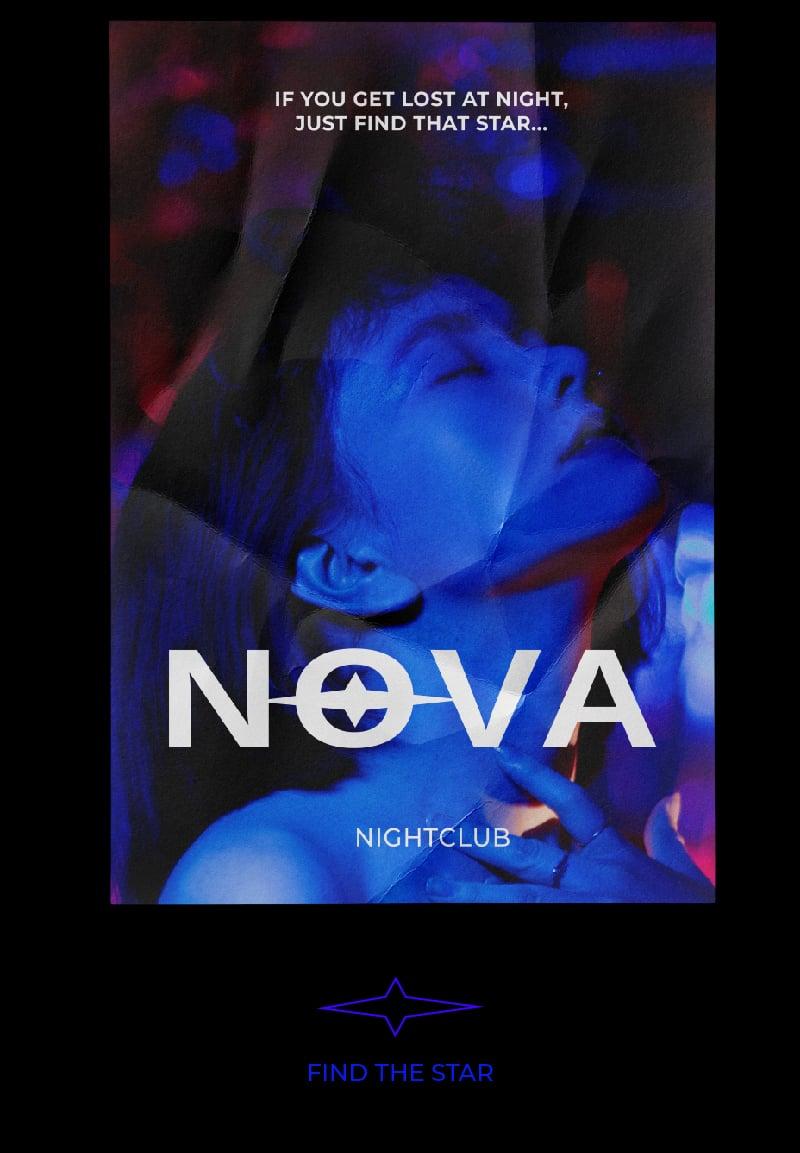 Nova – work in freelancer's portfolio