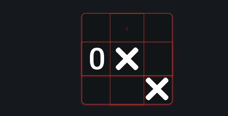 Сделал игру крестики - нолики – работа в портфолио фрилансера