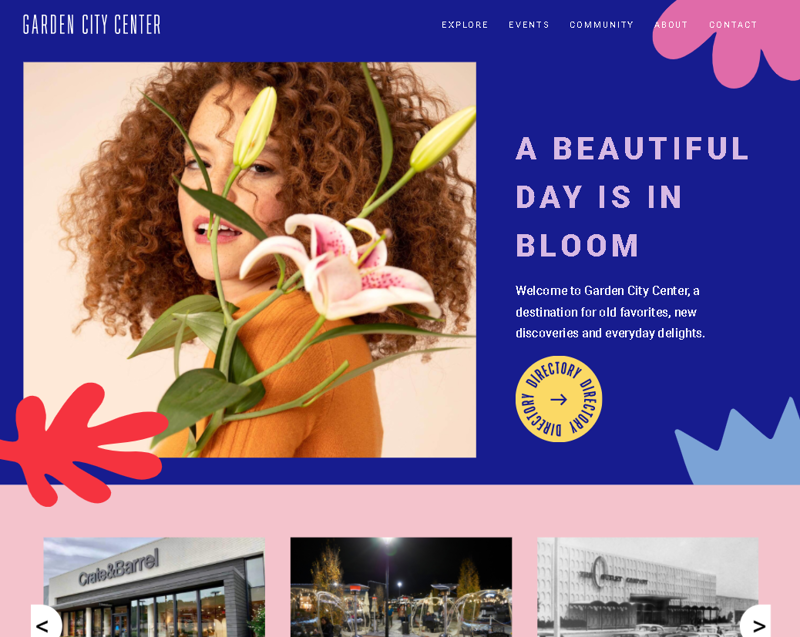 Вёрстка сайта Garden City – работа в портфолио фрилансера