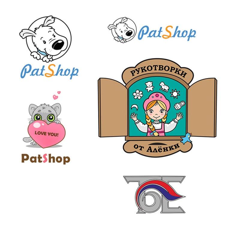 Логотипы – work in freelancer's portfolio