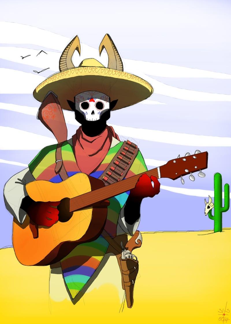 El Diablo Asesino Musico Fantasma – work in freelancer's portfolio