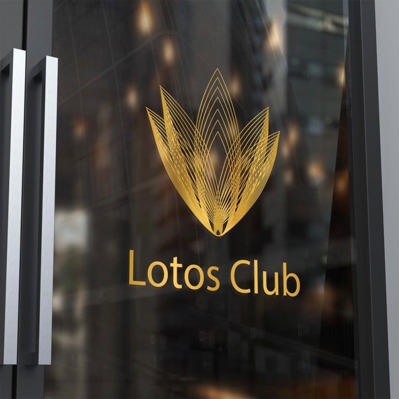 Логотип Лотос – work in freelancer's portfolio