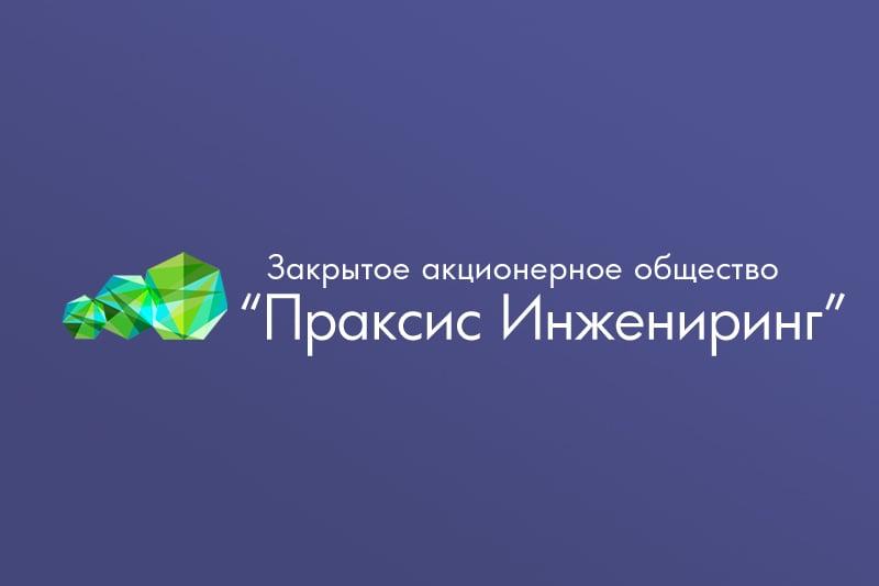 """Логотип ЗАО """"Праксис Инжиниринг"""" – work in freelancer's portfolio"""