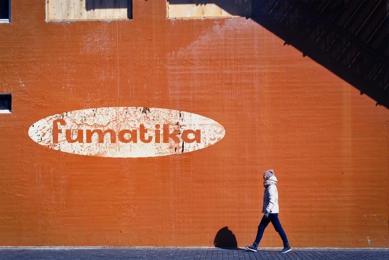 Логотип Fumatika v2 – работа в портфолио фрилансера