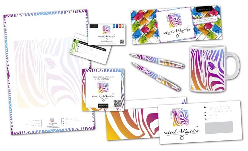 """Фирменный стиль и лого для BTL """"Inter Lab Media"""" – работа в портфолио фрилансера"""