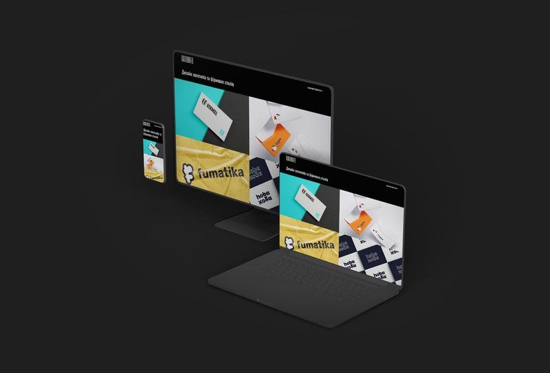 Дизайн сайта для logochopper – работа в портфолио фрилансера
