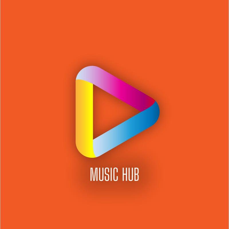 Логотип Music Hub. – work in freelancer's portfolio