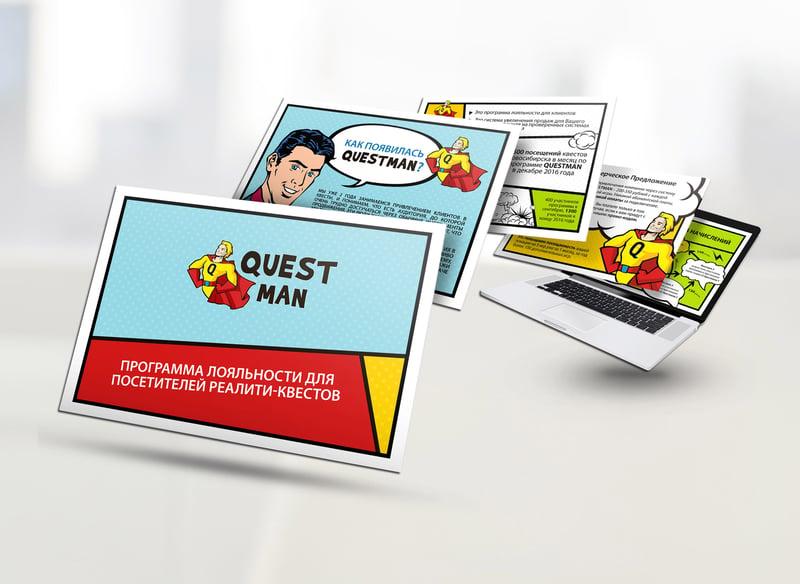 Questman Escape Room Company Marketing Kit – work in freelancer's portfolio