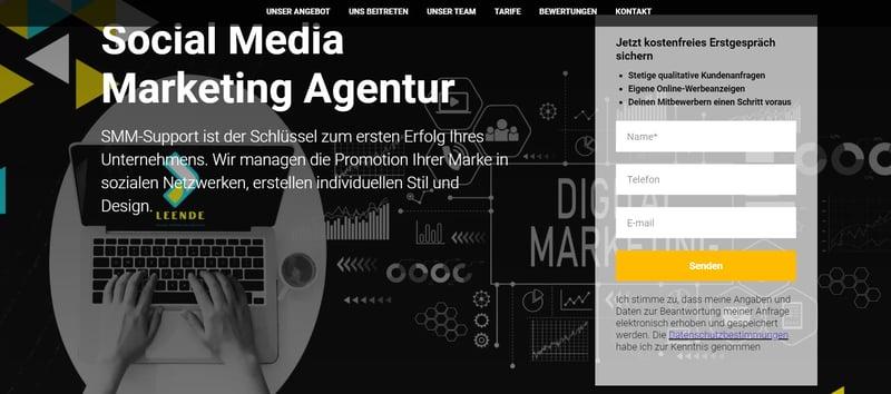 Сверстать сайт  на тильде – work in freelancer's portfolio