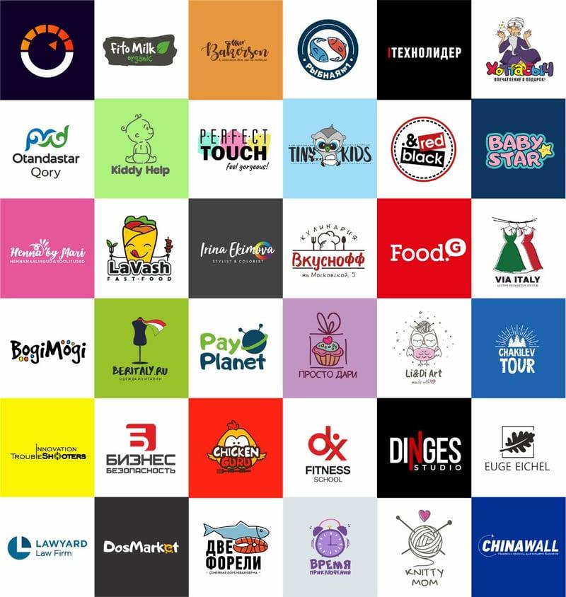 Разработка лого – работа в портфолио фрилансера