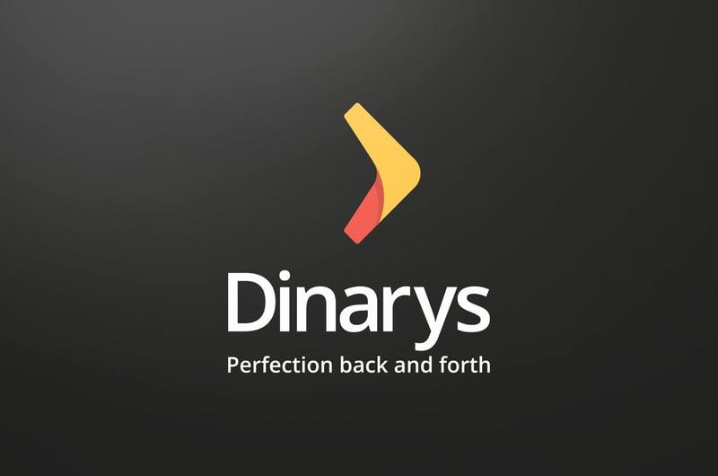 Логотип Dinarys – работа в портфолио фрилансера
