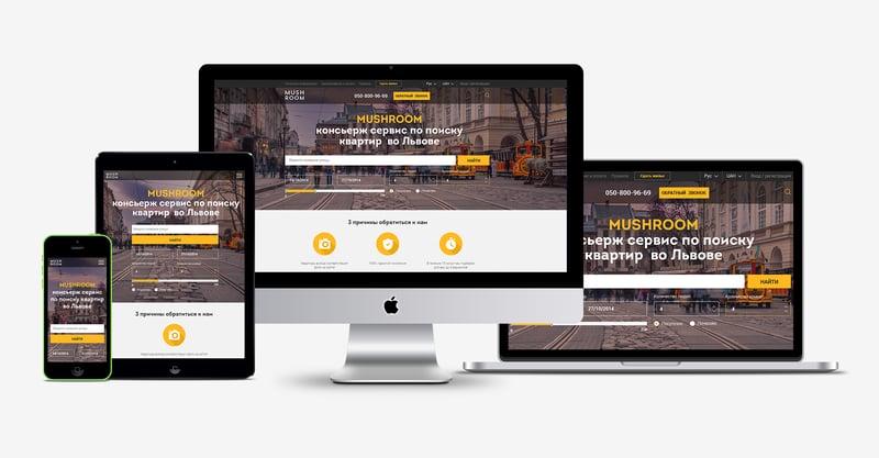 MushRoom – work in freelancer's portfolio