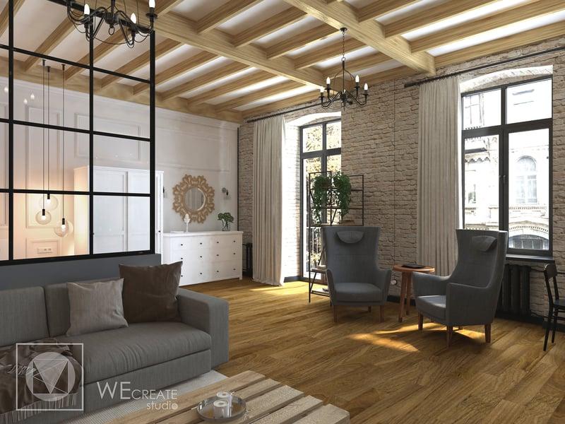 Квартира в стиле Лофт – work in freelancer's portfolio