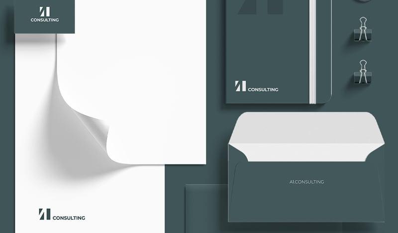 Вариант логотипа A1consulting – работа в портфолио фрилансера