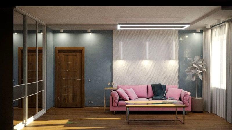 комната – work in freelancer's portfolio
