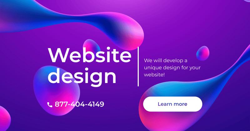 Дизайн баннера – work in freelancer's portfolio