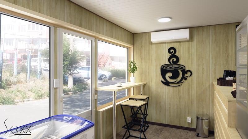 """Кафе """"Coffee Lounge"""" – work in freelancer's portfolio"""
