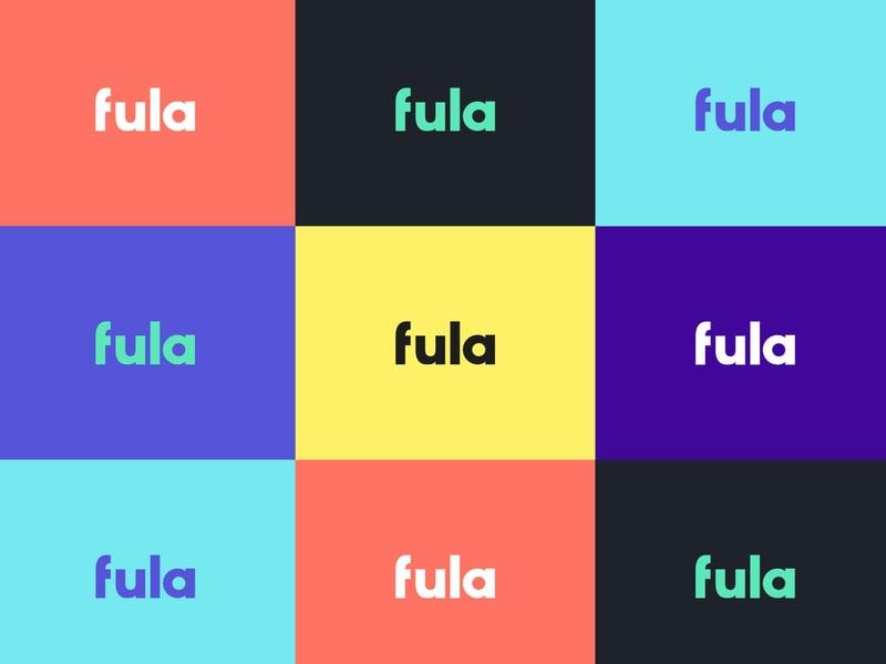 Логотип Fula – работа в портфолио фрилансера