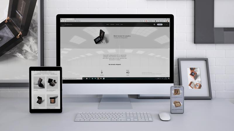 Разработка сайта WoodBox Lviv – work in freelancer's portfolio