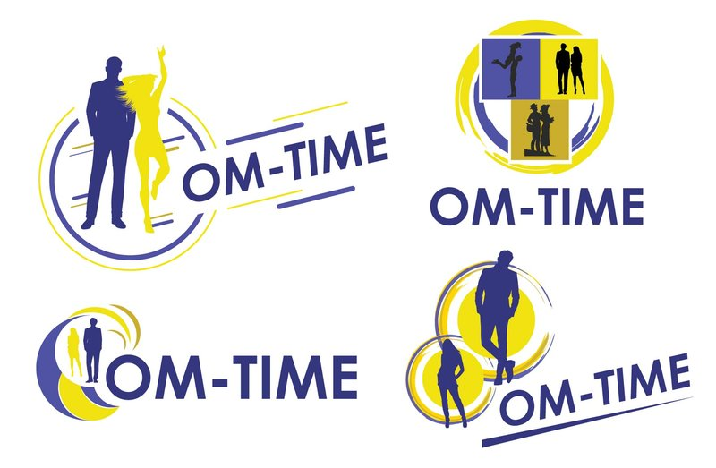"Лого для салона ""Om-Time"" – работа в портфолио фрилансера"
