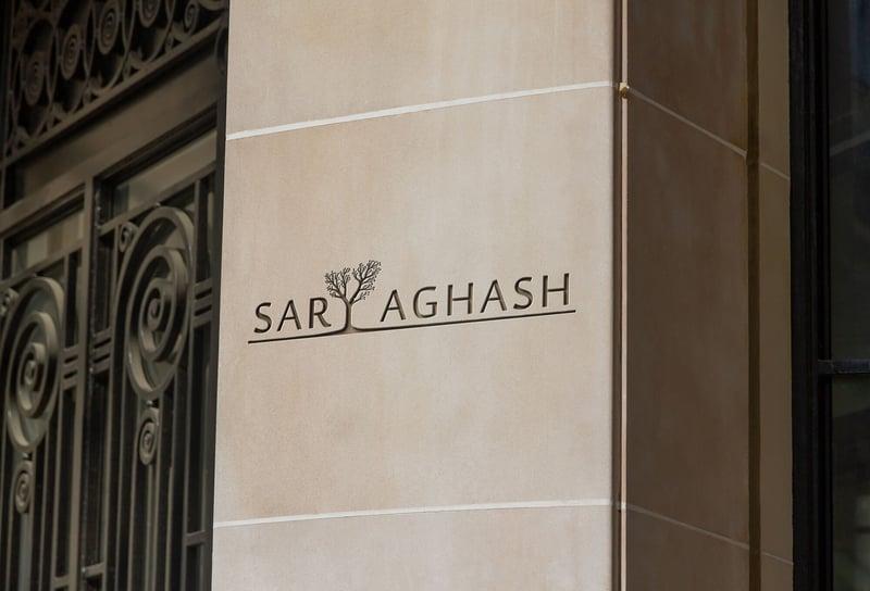 Логотип для санатории «Сарыагаш» – работа в портфолио фрилансера