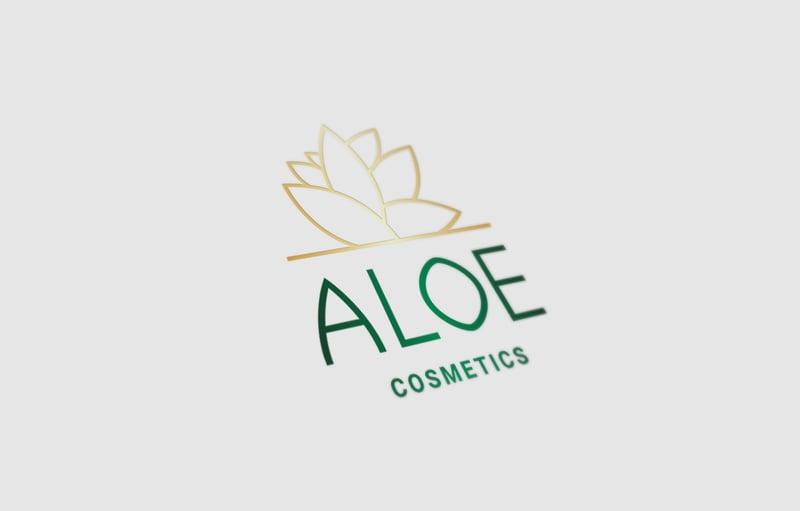 Разработка логотипа Aloe – работа в портфолио фрилансера