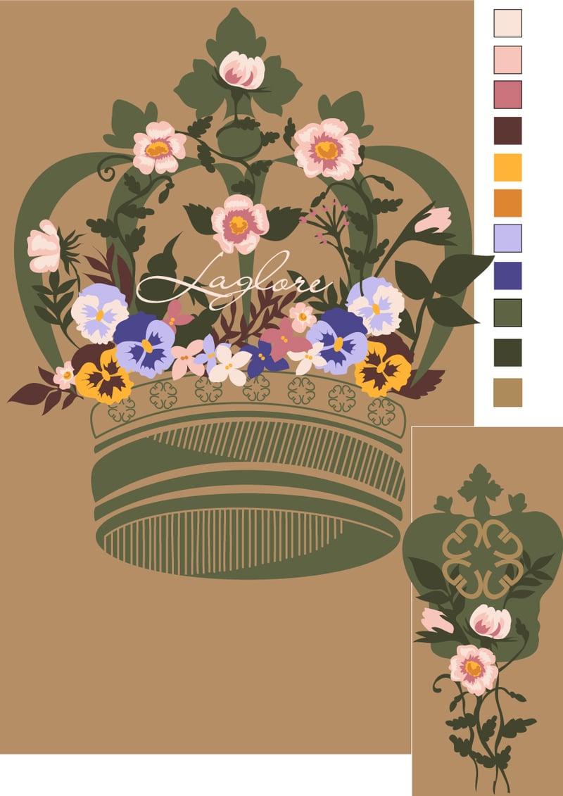 рисунок для машинной вышивки – work in freelancer's portfolio