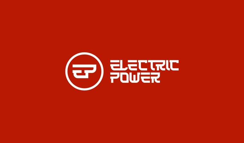 Логотип Electric Power – работа в портфолио фрилансера