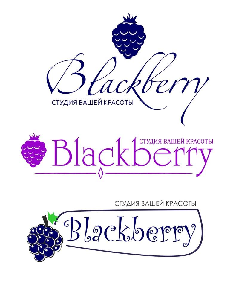 "Лого для салона ""Blackberry"" – работа в портфолио фрилансера"