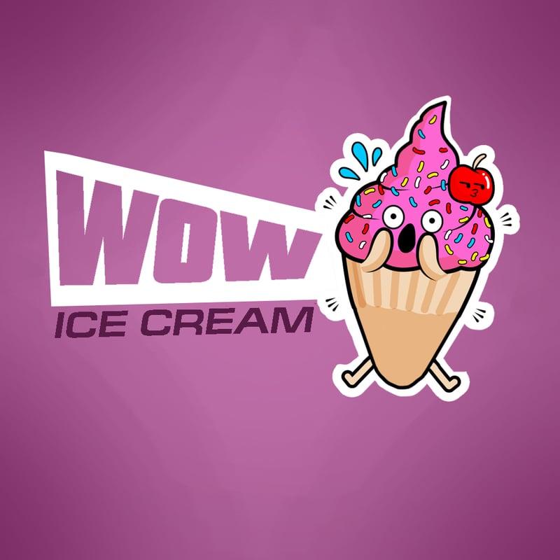Логотип для мороженного – работа в портфолио фрилансера
