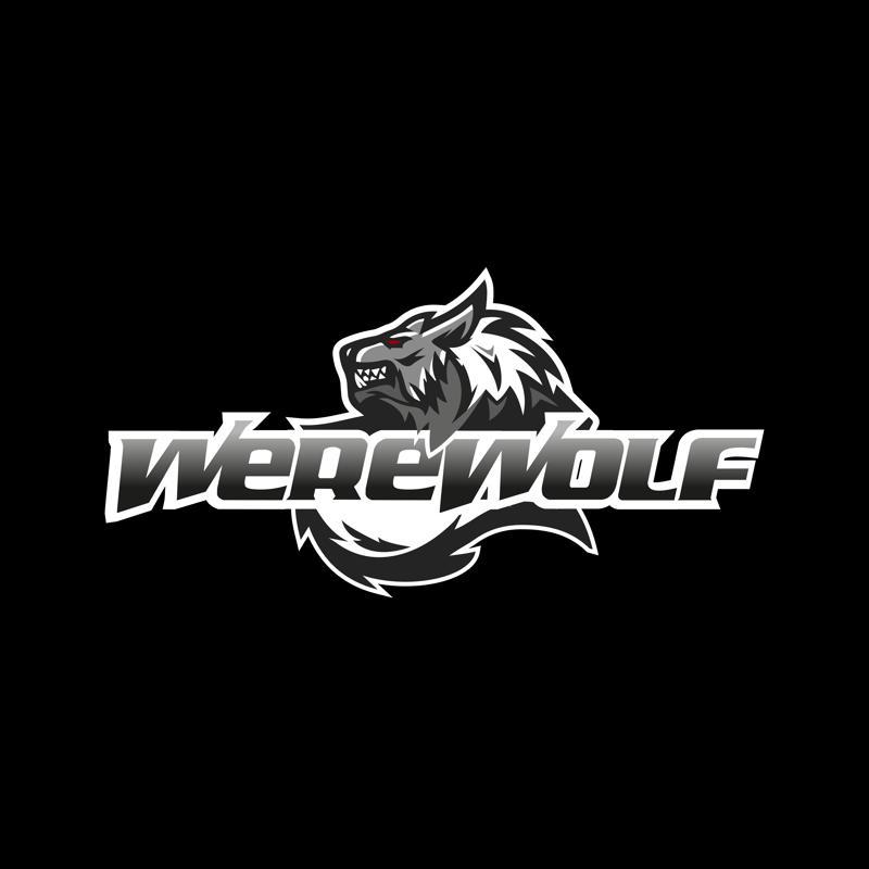 Werewolf logo – работа в портфолио фрилансера