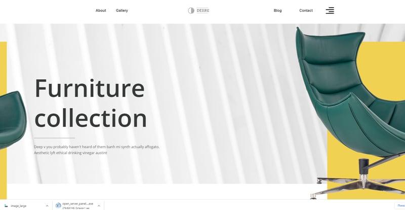 Сделал одностраничный сайт – работа в портфолио фрилансера