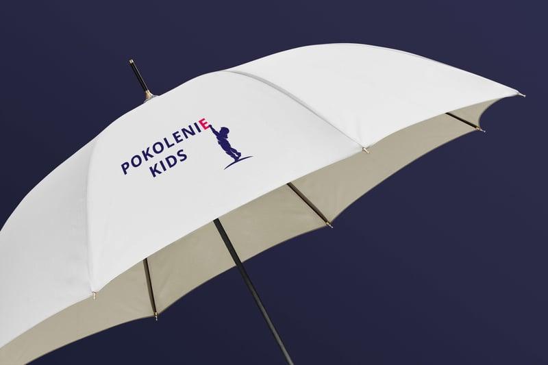 Логотип для детского магазина «Pokolenie Kids» – работа в портфолио фрилансера