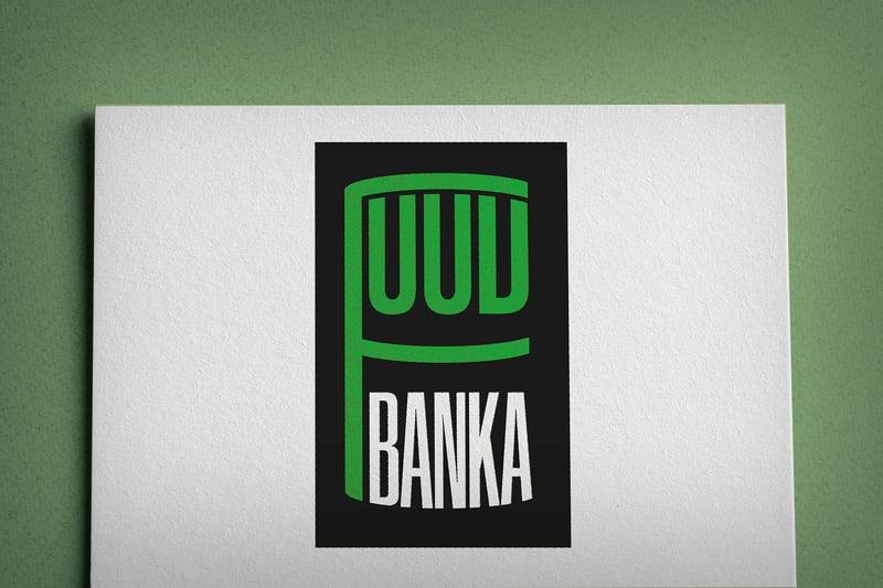 """Логотип мережі магазинів """"FOOD BANKA"""" – work in freelancer's portfolio"""