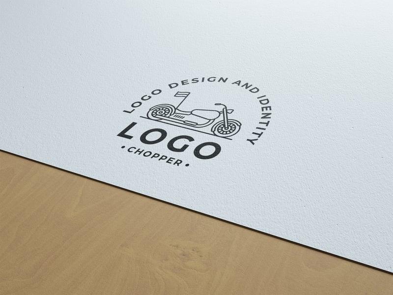 Логотип Logochopper v2 – работа в портфолио фрилансера