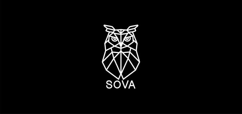 Логотип для ночного клуба SOVA – работа в портфолио фрилансера