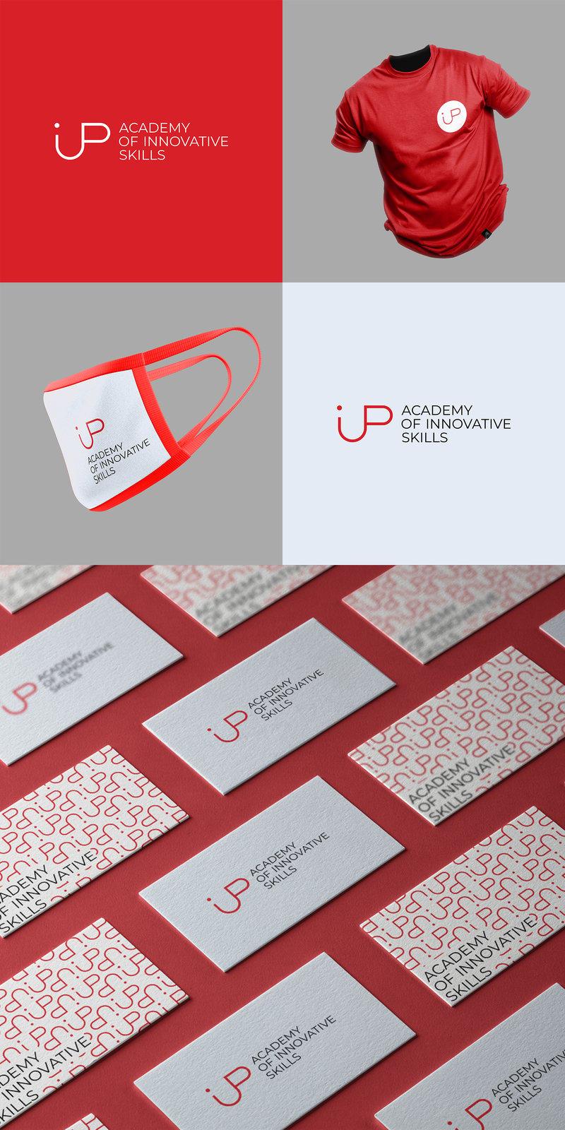 Логотип для образовательной платформы iup – работа в портфолио фрилансера