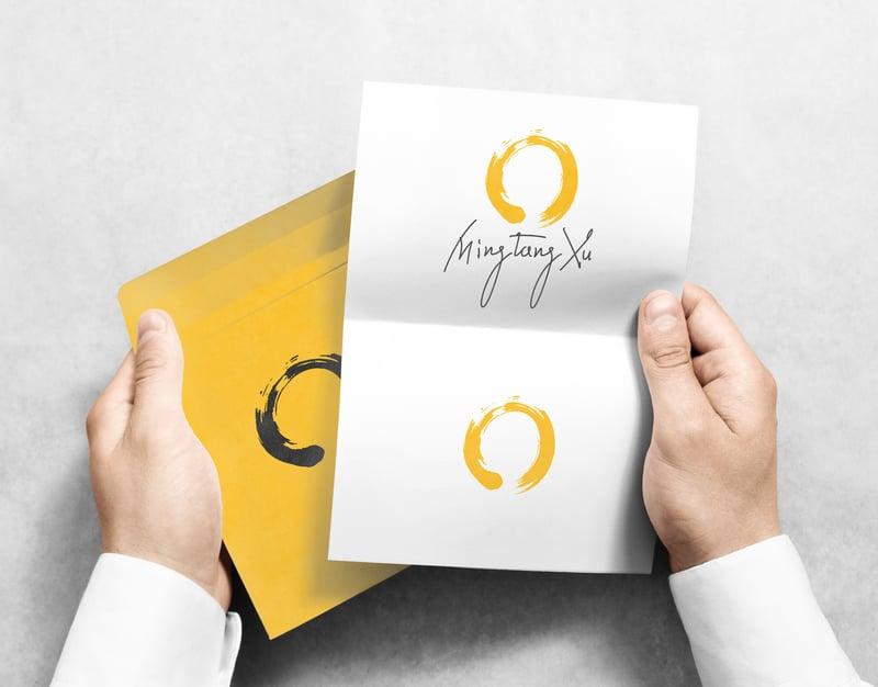 Логотип MingTangXu – работа в портфолио фрилансера