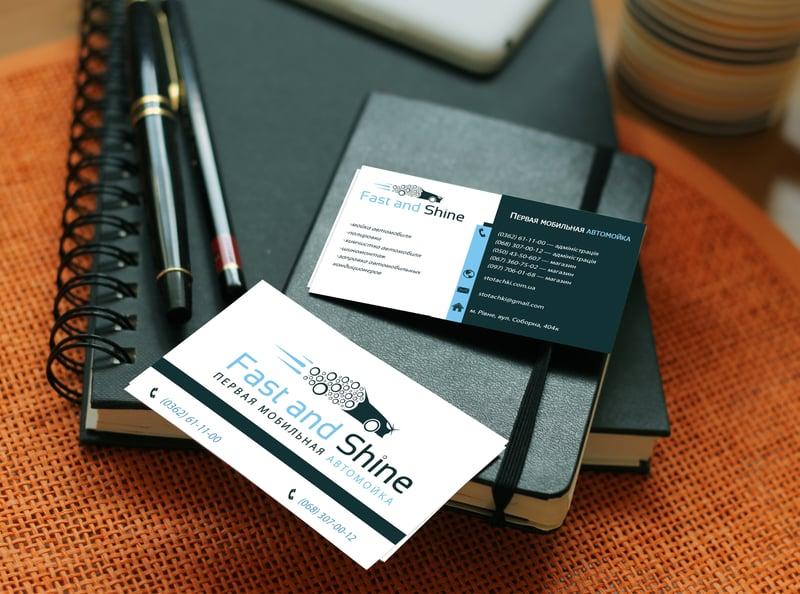 визитка – work in freelancer's portfolio