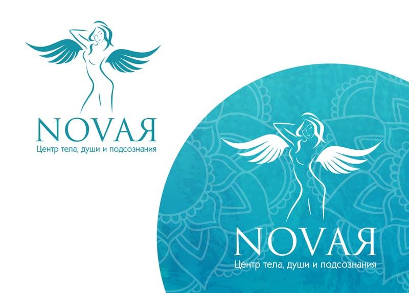 """Лого для салона """"Novaя"""" – работа в портфолио фрилансера"""