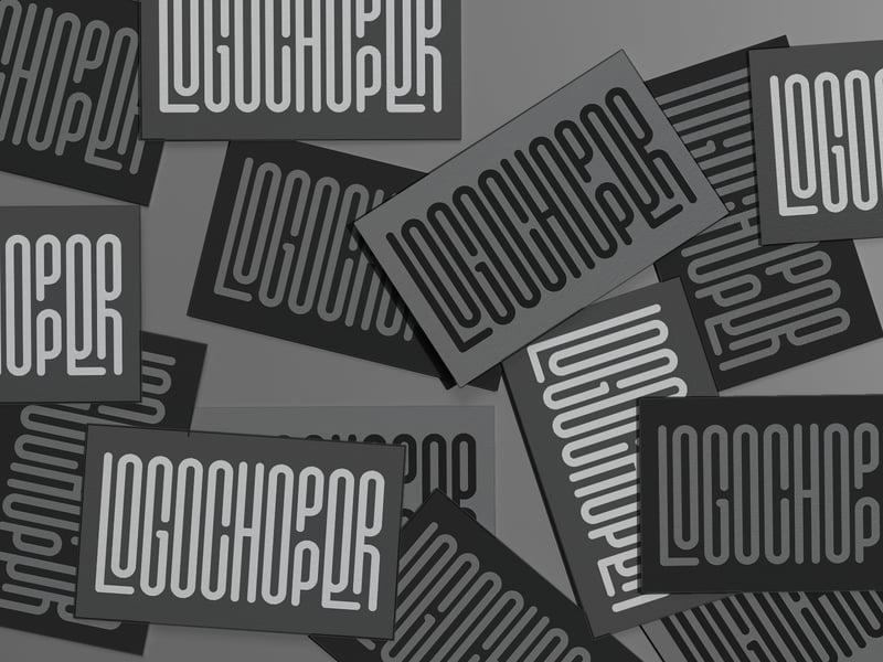 Логотип Logochopper – работа в портфолио фрилансера