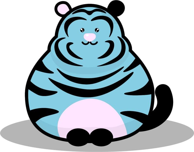 Милый тигр – work in freelancer's portfolio