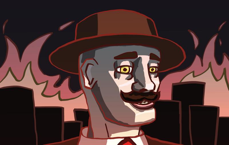 Mad mafiosi – работа в портфолио фрилансера