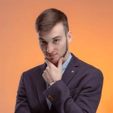Freelancer Андрей К. — Ukraine, Dnepr. Specialization — Web design, Business card design