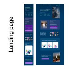 Freelancer Марина Таневская — Web design, Interface design