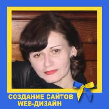 Фрилансер Оксана Ф. — Украина, Киев. Специализация — Создание сайта под ключ, Дизайн сайтов