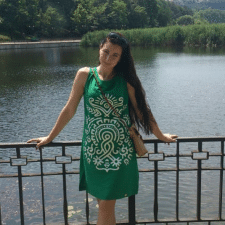 Freelancer Алина Я. — Ukraine, Odessa. Specialization — Web design, Business card design