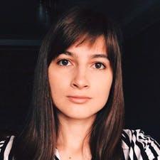 Freelancer София К. — Ukraine, Kharkiv. Specialization — JavaScript