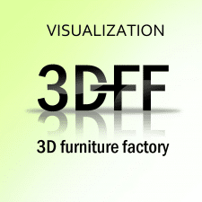 Freelancer Furniture F. — Ukraine. Specialization — 3D modeling and visualization, Video advertising